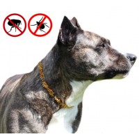 Baltic Amber Tick & Flea Preventive Collar  For Dogs
