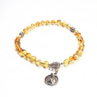 Honey Color Baltic Amber Orthodox Rosary