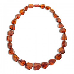 Treated Amber Beads/Necklaces
