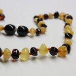 Polished Amber Teething Necklaces
