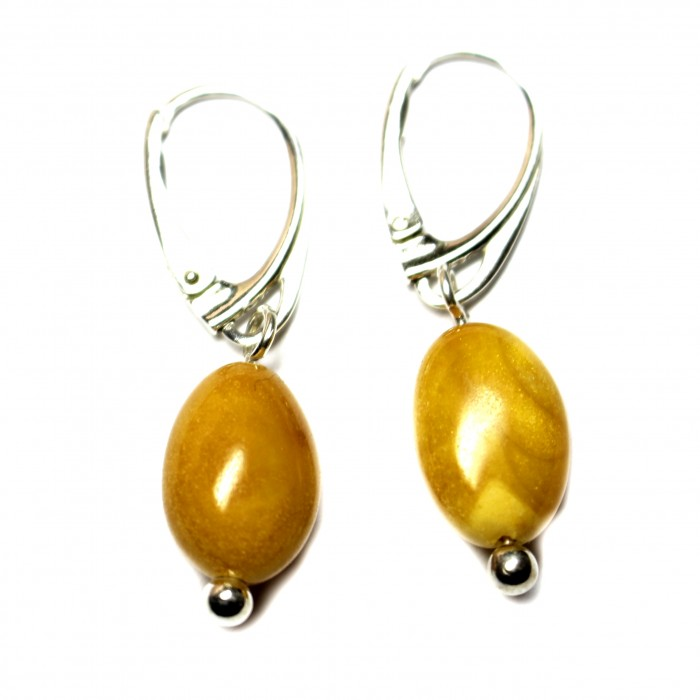Pendant available BALTIC AMBER EARRINGS BUTTERSCOTCH COLOR 925 STERLING SILVER