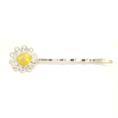 Hairpin With Baltic Amber