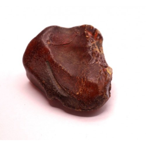 Cognac Color Raw Rough Natural Baltic Amber Stone Piece ~ 8 g