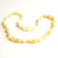 Unpolished Olive Style ROYAL - Milky Baby Teething Necklace
