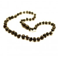 Unpolished Baroque Style Cherry Teething Necklace