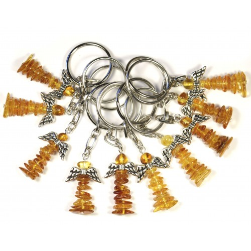 "Key-ring ""HOME - CAR"" Guardian Angel"" 10 pcs"