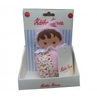 Kathe Kruse In The Garden Musical Plush Toy, Roly Poly BABY Girl