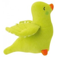 Kathe Kruse Bird Grabbing Toy, Green
