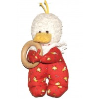 Kathe Kruse - Duck Grabbing Ring Toy