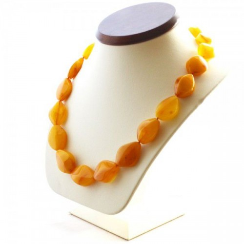 Vintage Style Baltic Amber Beads Necklace Butterscotch  50 cm (20.07 in)