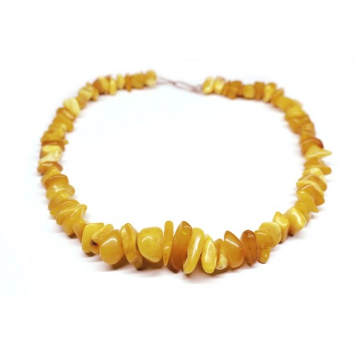 Vintage Baltic Amber Beads Necklace Butterscotch 33g  44cm
