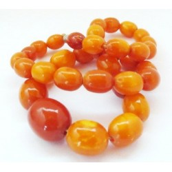 Antique Amber Beads / Necklaces